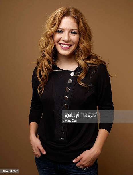 Actress Rachelle Lefevre from Barney's Version and Casino Jack poses for a portrait during the 2010 Toronto International Film Festival in Guess...
