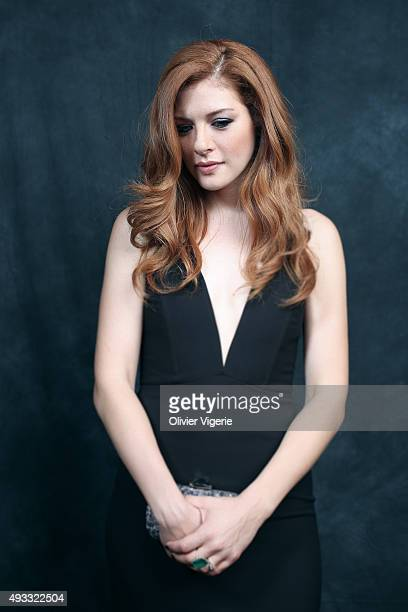 Actress Rachelle Lefevre is photographed on September 10 2015 in Deauville France