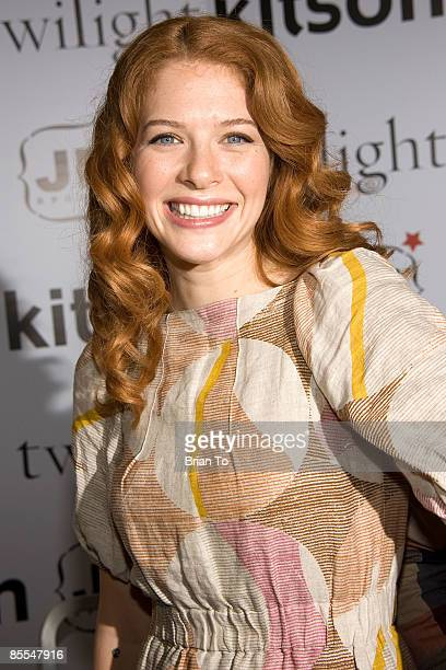 Actress Rachelle Lefevre poses at Kitson Hosts Special Twilight DVD Release Party on March 21 2009 at Kitson on Robertson in Beverly Hills California