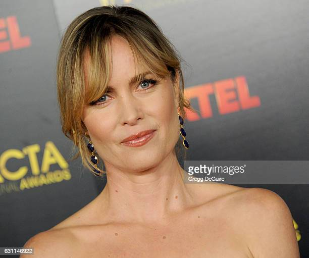 Actress Radha Mitchell arrives at the 6th AACTA International Awards at Avalon Hollywood on January 6, 2017 in Los Angeles, California.