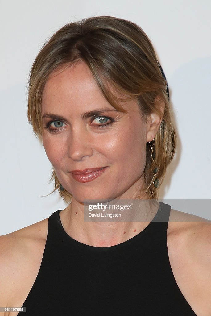 Actress Radha Mitchell arrives at The Art of Elysium presents Stevie Wonder's HEAVEN celebrating the 10th Anniversary at Red Studios on January 7, 2017 in Los Angeles, California.