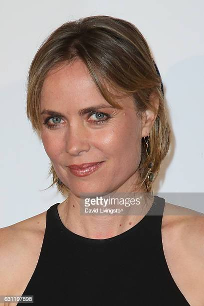Actress Radha Mitchell arrives at The Art of Elysium presents Stevie Wonder's HEAVEN celebrating the 10th Anniversary at Red Studios on January 7...