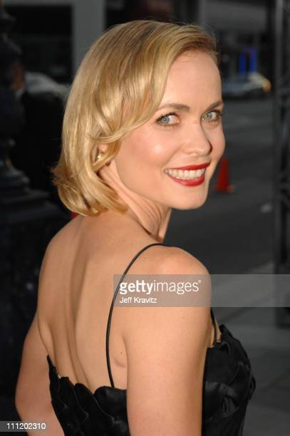 """Actress Radha Mitchell arrives at the """"Feast of Love"""" premiere at The Academy of Motion Picture Arts and Sciences on September 25, 2007 in Los..."""