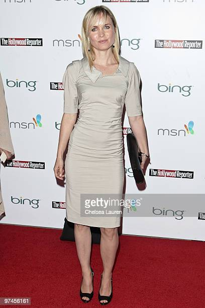 Actress Radha Mitchell arrives at The Hollywood Reporter Reception Honoring Oscar Nominees at The Getty House on March 4, 2010 in Los Angeles,...