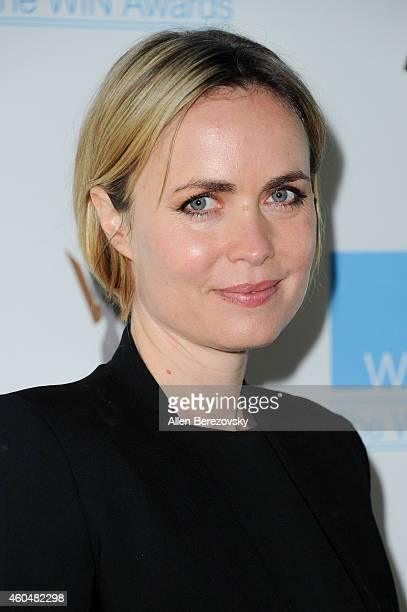 Actress Radha Mitchell arrives at Women's Image Network's 16th annual Women's Image Awards at Beverly Hills Women's Club on December 14 2014 in...