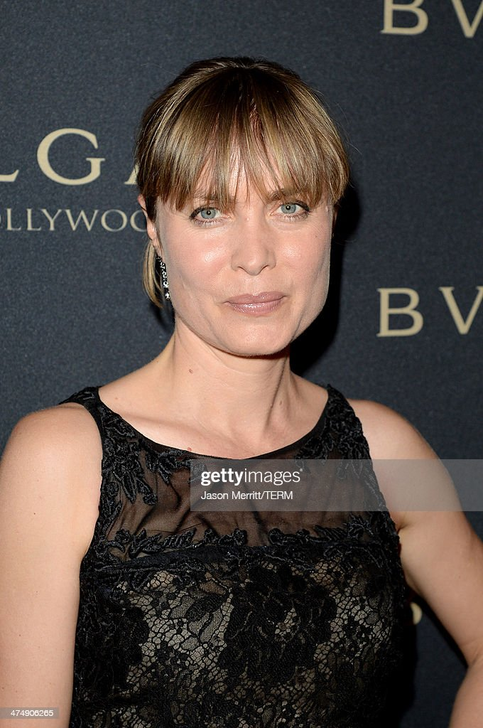 Actress Radha Mitchell attends 'Decades of Glamour' presented by BVLGARI on February 25, 2014 in West Hollywood, California.