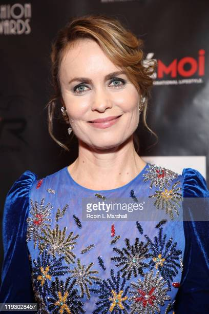 Actress Radha Mitchell attends the 2019 Cinefashion Film Awards at The Saban on December 09 2019 in Beverly Hills California