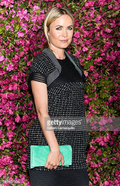 Actress Radha Mitchell attends the 8th annual Chanel Artists Dinner during the 2013 Tribeca Film Festival at The Odeon on April 24, 2013 in New York...