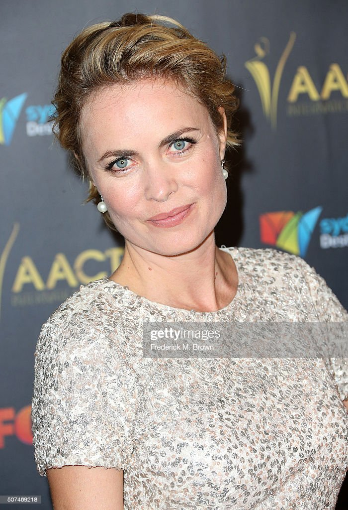 Actress Radha Mitchell attends the AACTA International Awards at Avalon Hollywood on January 29, 2016 in Los Angeles, California.