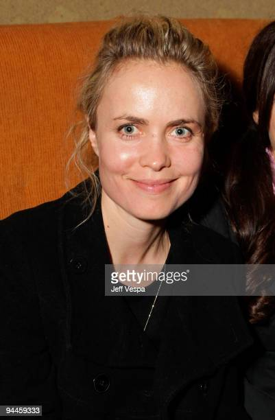 """Actress Radha Mitchell attends the after party for the """"Inglourious Basterds"""" Blu-Ray and DVD launch held at Grace on December 14, 2009 in Los..."""