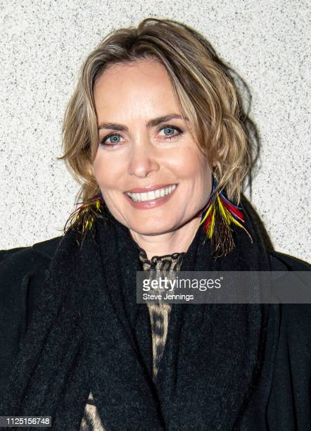"""Actress Radha Mitchell attends the Australian Spotlight Film """"Celeste"""" at the Mostly British Film Festival at Vogue Theatre on February 15, 2019 in..."""