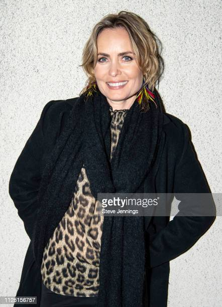 Actress Radha Mitchell attends the Australian Spotlight Film Celeste at the Mostly British Film Festival at Vogue Theatre on February 15 2019 in San...