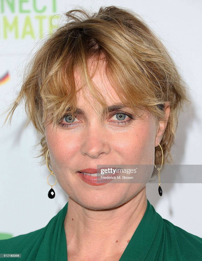 Actress Radha Mitchell attends the Global Green USA's 13th Annual Pre-Oscar Party at the Mr. C Beverly Hills Hotel on February 24, 2016 in Beverly Hills, California.