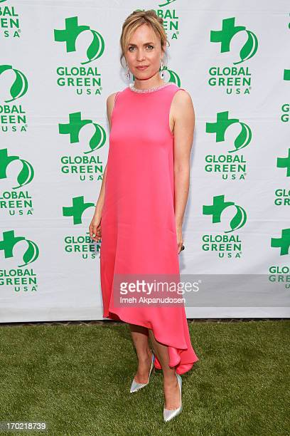 Actress Radha Mitchell attends the Global Green USA's Annual Millennium Awards at Fairmont Miramar Hotel on June 8 2013 in Santa Monica California