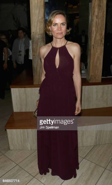 Actress Radha Mitchell attends the world premiere after party for The Shack hosted by Lionsgate at Gabriel Kreuther on February 28 2017 in New York...