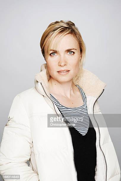 Actress Radha Mitchell is photographed at the Sundance Film Festival for Entertainment Weekly Magazine on January 21, 2013 in Park City, Utah.
