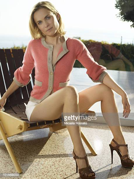 Actress Radha Mitchell poses at a portrait session in New York NY