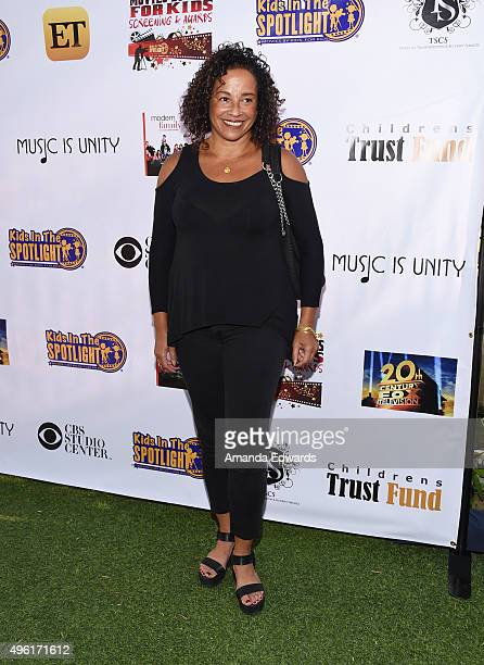 Actress Rae Dawn Chong arrives at the Kids In The Spotlight's Movies By Kids For Kids Film Awards at Fox Studios on November 7 2015 in Los Angeles...