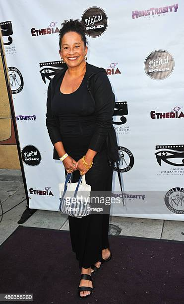 Actress Rae Dawn Chong arrives for the Etheria Film Night 2015 held at American Cinematheque's Egyptian Theatre on June 13 2015 in Hollywood...