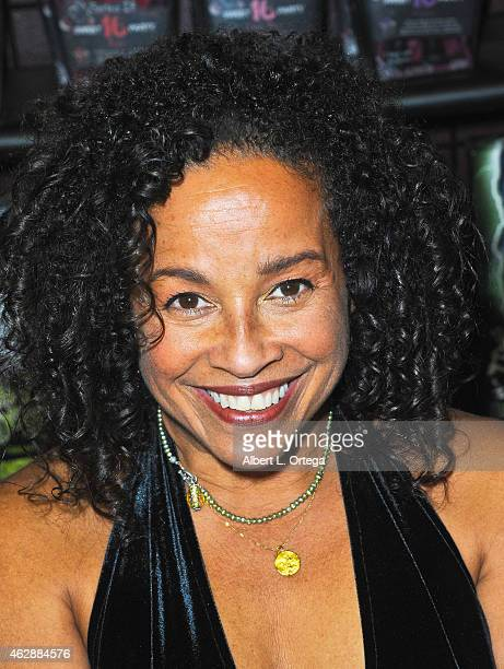 Actress Rae Dawn Chong at the Second Annual David DeCoteau's Day Of The Scream Queens held at Dark Delicacies Bookstore on January 25 2015 in Burbank...