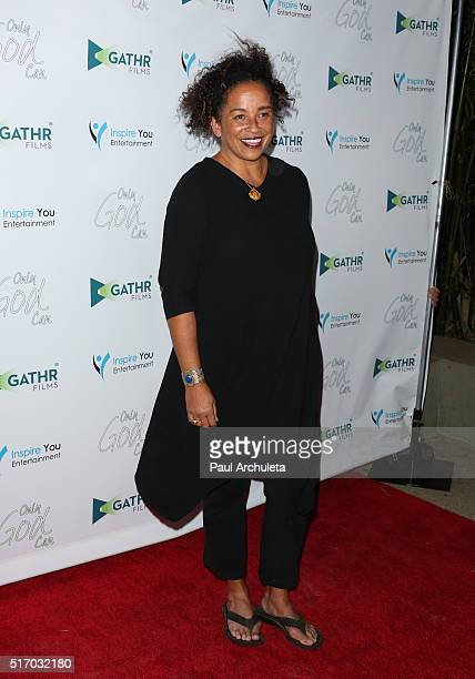Actress Rae Dawn Chong attends the premiere of Only God Can at Laemmle NoHo 7 on March 22 2016 in North Hollywood California