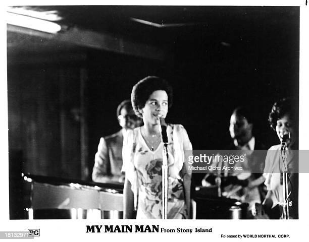 Actress Rae Dawn Chong on set of the movie My Main Man In Stony Island in 1978