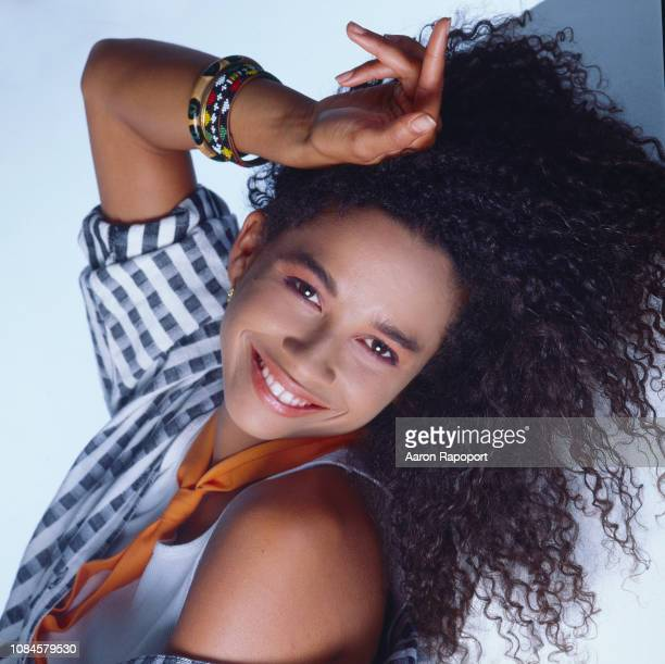 Actress Rae Dawn Chong poses for a portrait in Los Angeles California