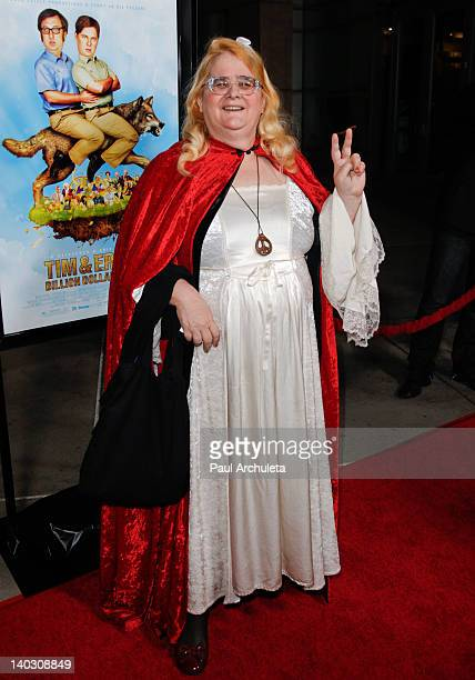 Actress Rae Sunshine Lee attends the 'Tim Eric'$ Billion Dollar Movie' Los Angeles premiere at the ArcLight Hollywood on March 1 2012 in Hollywood...