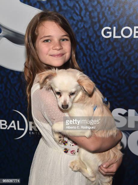 Actress Raegan Revord attends the premiere of Global Road Entertainment's Show Dogs at The TCL Chinese 6 Theatres on May 5 2018 in Hollywood...