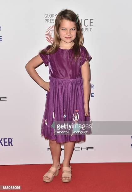 Actress Raegan Revord attends the premiere of The New George Balanchine's The Nutcracker at The Dorothy Chandler Pavillion at the Music Center on...