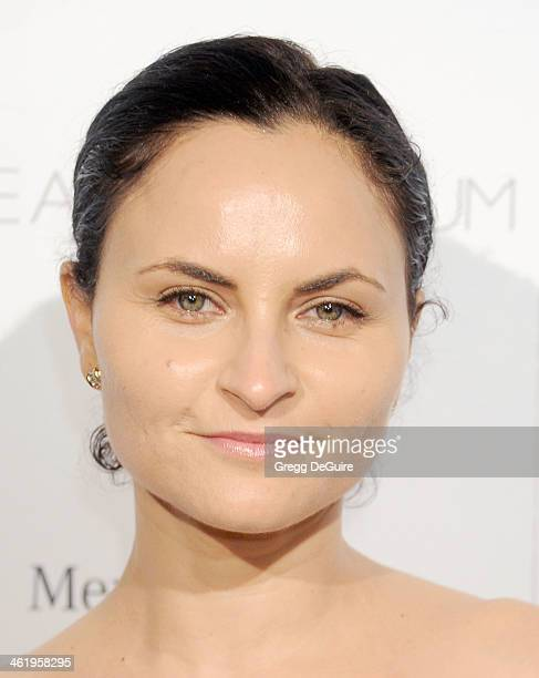 Actress Rain Phoenix arrives at The Art of Elysium's 7th Annual HEAVEN Gala at the Guerin Pavilion at the Skirball Cultural Center on January 11 2014...