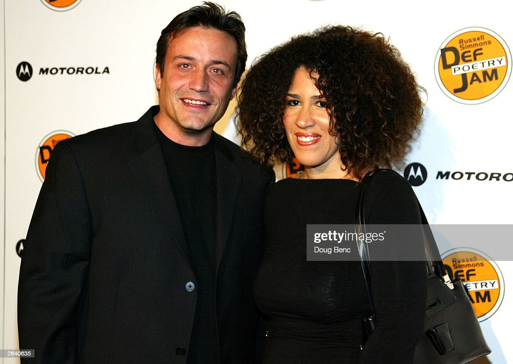 Actress Rain Pryor and her husband actor Kevin Kindlin attend Russell Simmons Def Jam Poetry Broadway 'Jams' Tour Kick-off on October 23, 2003 at the Wadsworth Theater in Brentwood, California.
