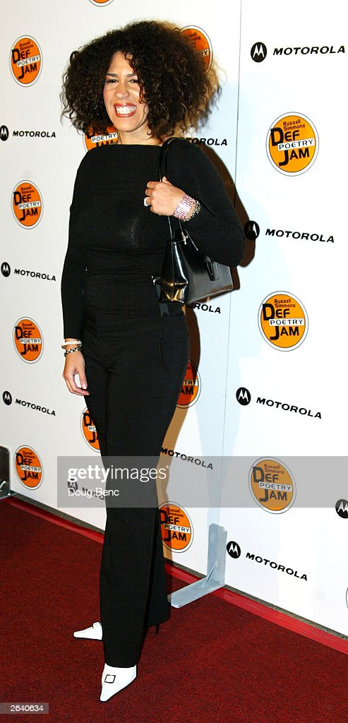 Actress Rain Pryor attends Russell Simmons Def Jam Poetry Broadway 'Jams' Tour Kick-off on October 23, 2003 at the Wadsworth Theater in Brentwood, California.