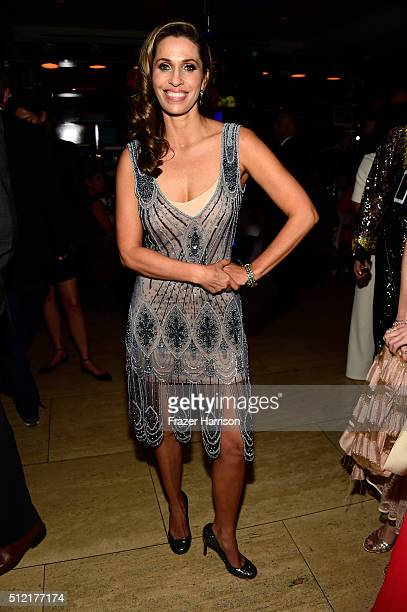 Actress Rainbeau Mars attends Global Green USA's 13th annual preOscar party at Mr C Beverly Hills on February 24 2016 in Los Angeles California