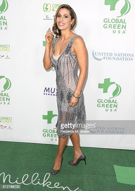 Actress Rainbeau Mars attends Global Green USAs 13th