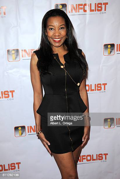 Actress Rana Kirkland arrives for the InfoList PreOscar Soiree And Birthday Party for Jeff Gund held at OHM Nightclub on February 18 2016 in...