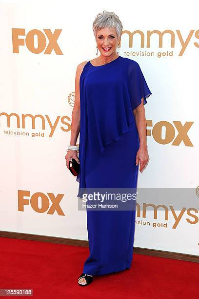 Actress Randee Heller arrives at the 63rd Annual Primetime Emmy Awards held at Nokia Theatre LA LIVE on September 18 2011 in Los Angeles California