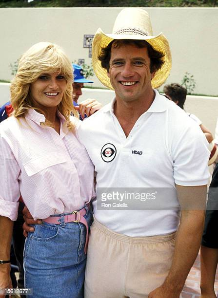 Actress Randi Brooks and Actor Tom Wopat attend the Taping of the 14th Installment of the Television Competition Special 'Battle of the Network...