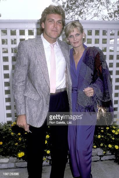 Actress Randi Brooks and husband Joseph Brazen attend the 12th Annual Fundraiser Brunch to Benefit The Rape Treatment Center at Santa Monica Hospital...