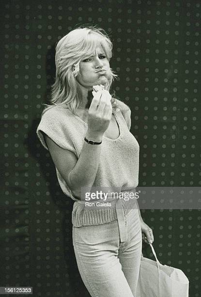 Actress Randi Brooks attending 'The City Fair Benefiting Cystic Fibrosis Foundation' on June 19 1983 at Bloomingdale's in New York City New York