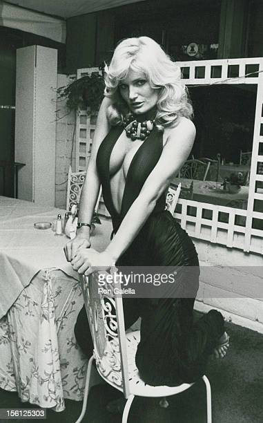 Actress Randi Brooks attending the wrap party for 'Murder Me Murder You' on February 11 1983 at Ma Maison Restaurant in Beverly Hills California