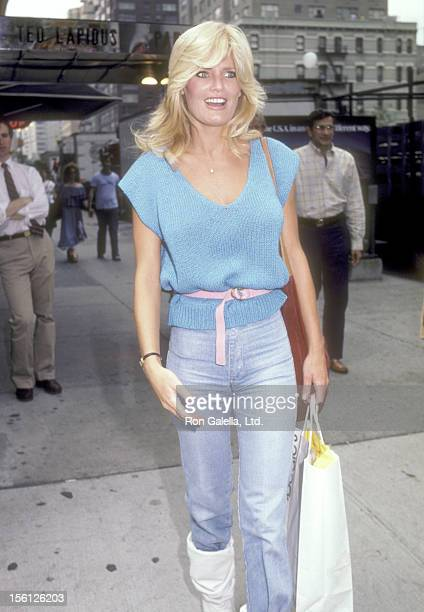 Actress Randi Brooks attends the Bloomingdale's and Mrs Fields Present The City Fair to Benefit The Cystic Fibrosis Research Foundation on June 19...
