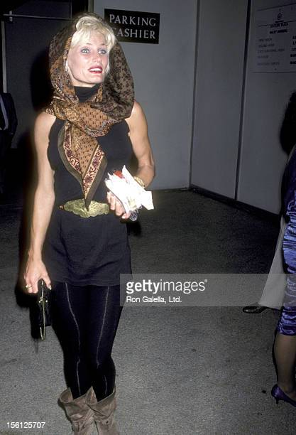 Actress Randi Brooks attends the First Annual Joan Rivers Celebrity Tennis/Auction Classic to Benefit the Cystic Fibrosis Foundation on May 31 1986...