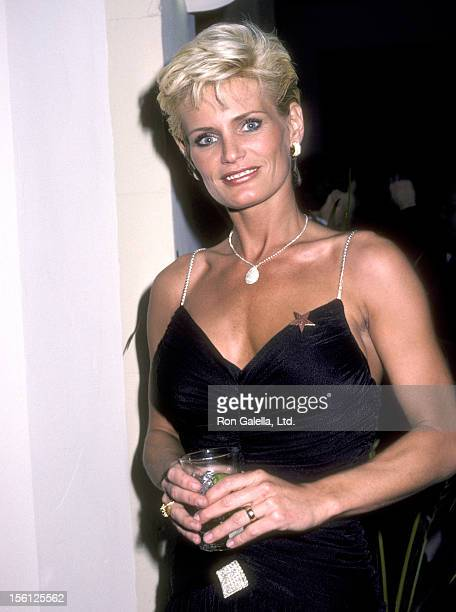 Actress Randi Brooks attends the Hollywood Walk of Fame Ceremony Honoring Stephen J Cannell on January 14 1986 at 7000 Hollywood Boulevard in...