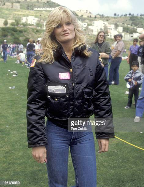 Actress Randi Brooks attends the Taping of the 14th Installment of the Television Competition Special 'Battle of the Network Stars' on April 24 1983...