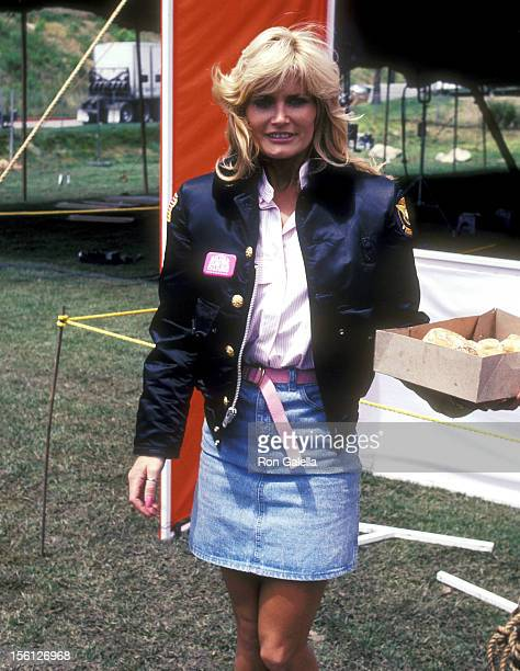 Actress Randi Brooks attends the Taping of the 14th Installment of the Television Competition Special 'Battle of the Network Stars' on April 23 1983...