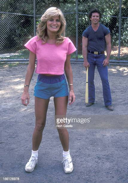 Actress Randi Brooks Poses for an Exclusive Photo Session on April 16 1983 at Crestwood Hills Park in Los Angeles California