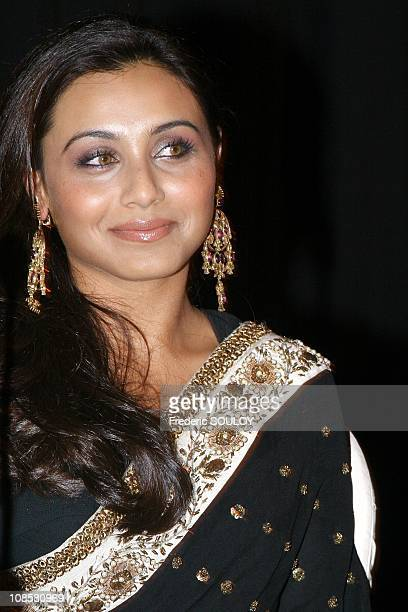 Actress Rani Mukerji in ParisFrance on April 262006