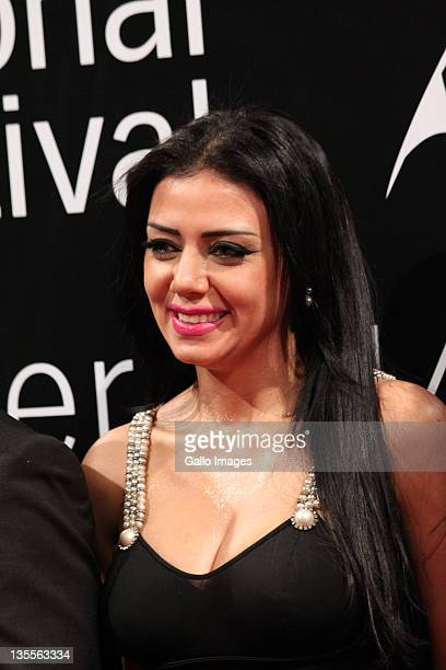 Actress Rania Yucef attends the 'A Whole One' premiere during the 2011 Dubai International Film Festival Day Five on Decemeber 11 2011 in Dubai