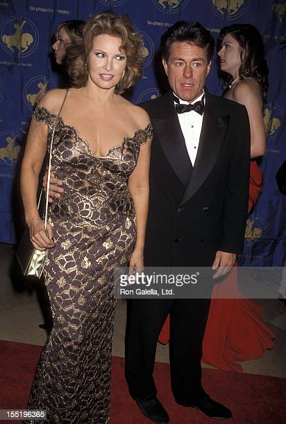 Actress Raquel Welch and boyfriend Richard Palmer attend the 1998 Carousel of Hope Ball to Benefit the Barbara Davis Center for Childhood Diabetes on...